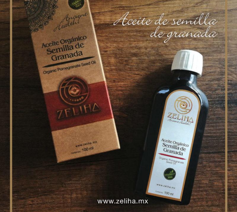Aceite Orgánico Semilla de Granada